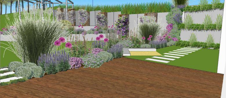 garten und landschaftsbau hang – sweetmenu, Terrassen ideen